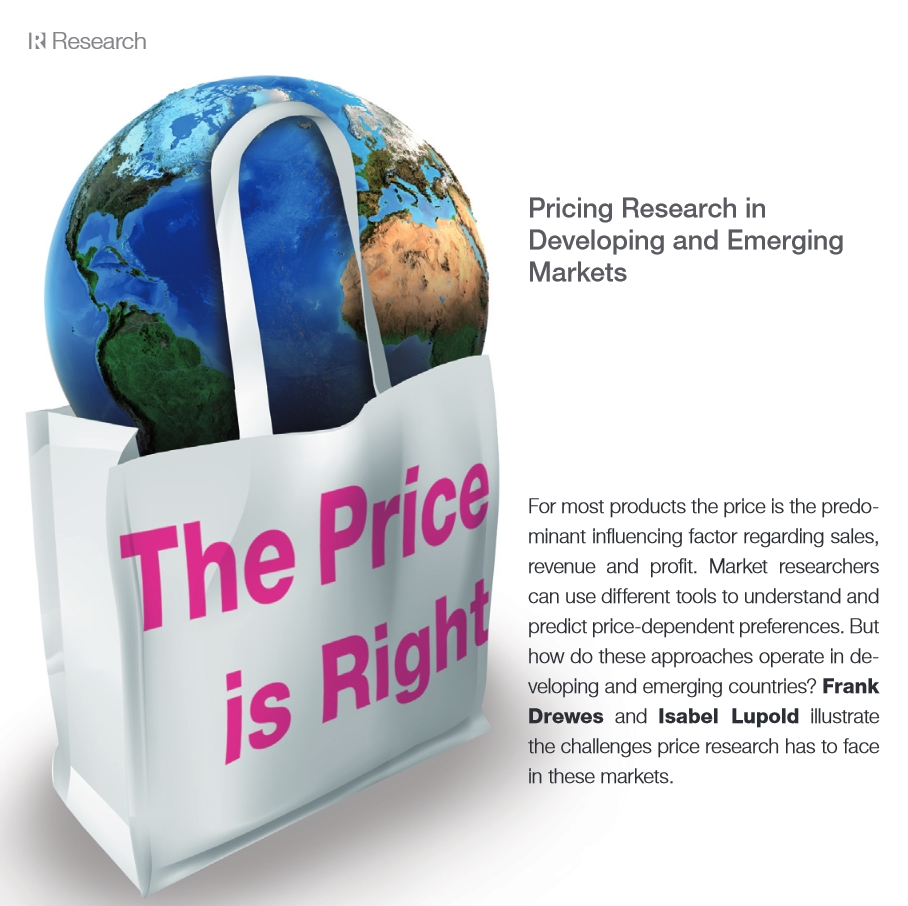 Pricing Research in Developing and Emerging Markets