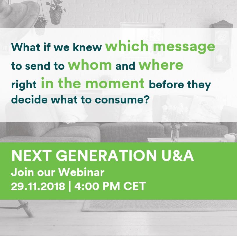 Webinar: Next generation U&A image