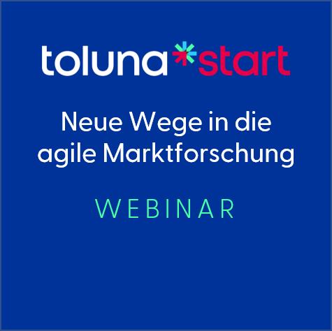 WEBINAR: Neue Wege in die agile Marktforschung mit Toluna Start image